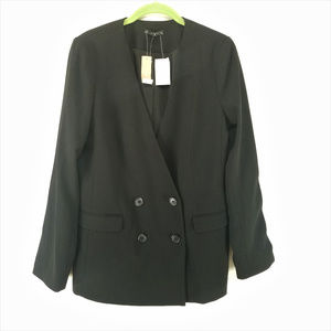 J. Crew French Girl Blazer in 365 Crepe H6285